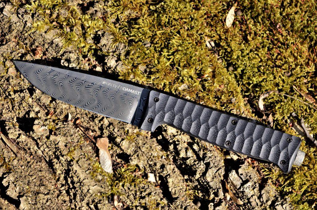 Croz - Damast - Outdoor-Messer