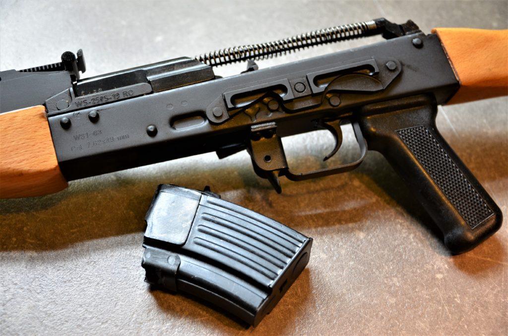 Cugir WS1-63 - 7.62x39 - halbautomatische Büchse mit 10 Schuss Magazin
