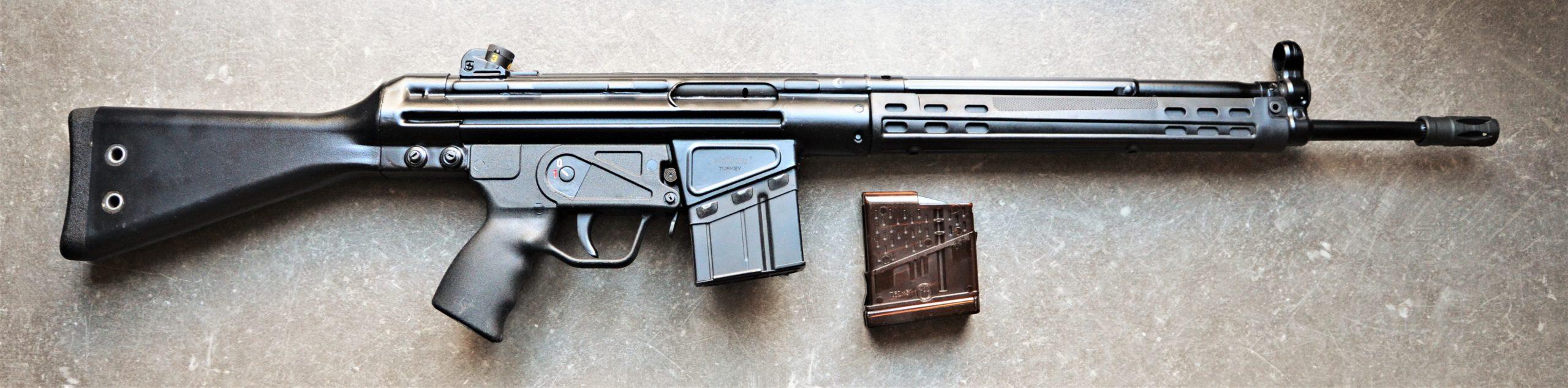 MKE T41 - .308Win - halbautomatische Büchse rechts