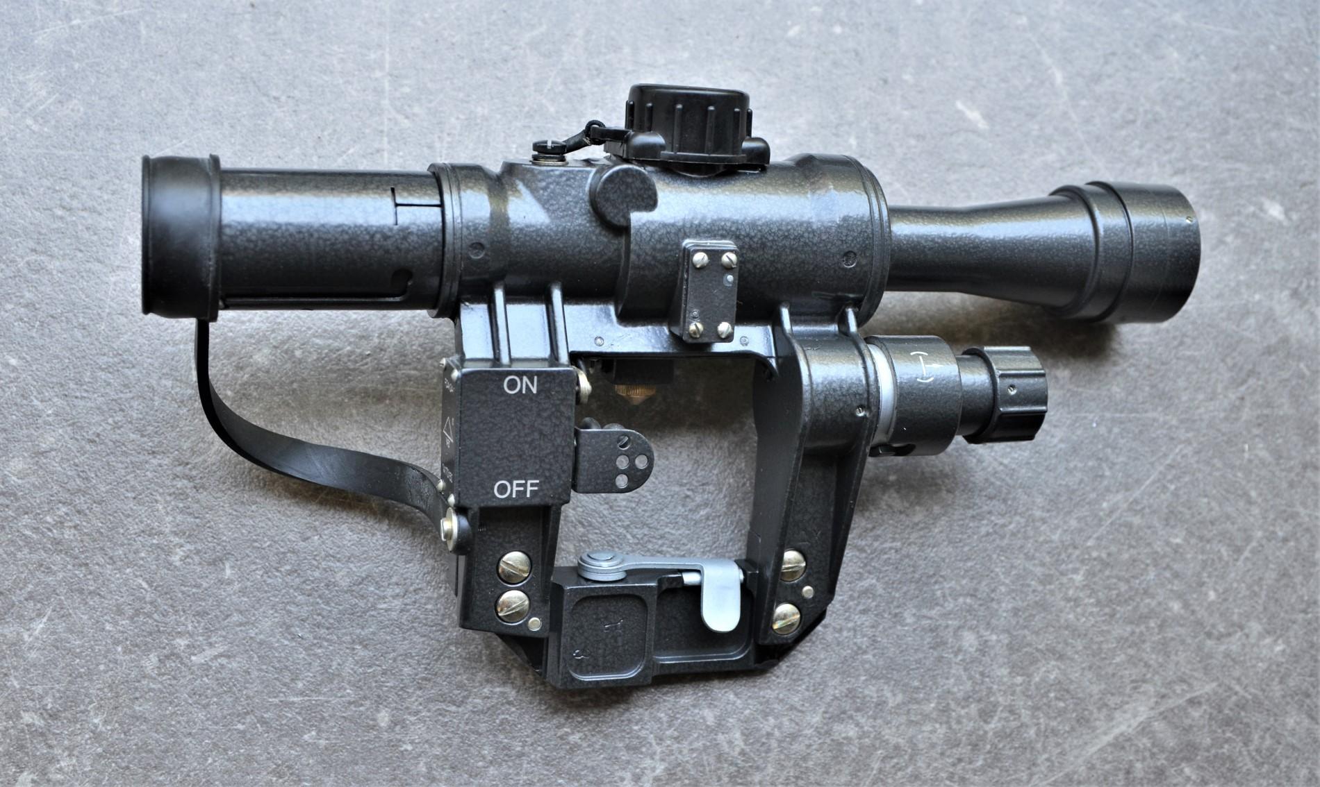 NPZ PO (PSO-1) 4X24-1 - Zielfernrohr für AK Seitenmontageschiene