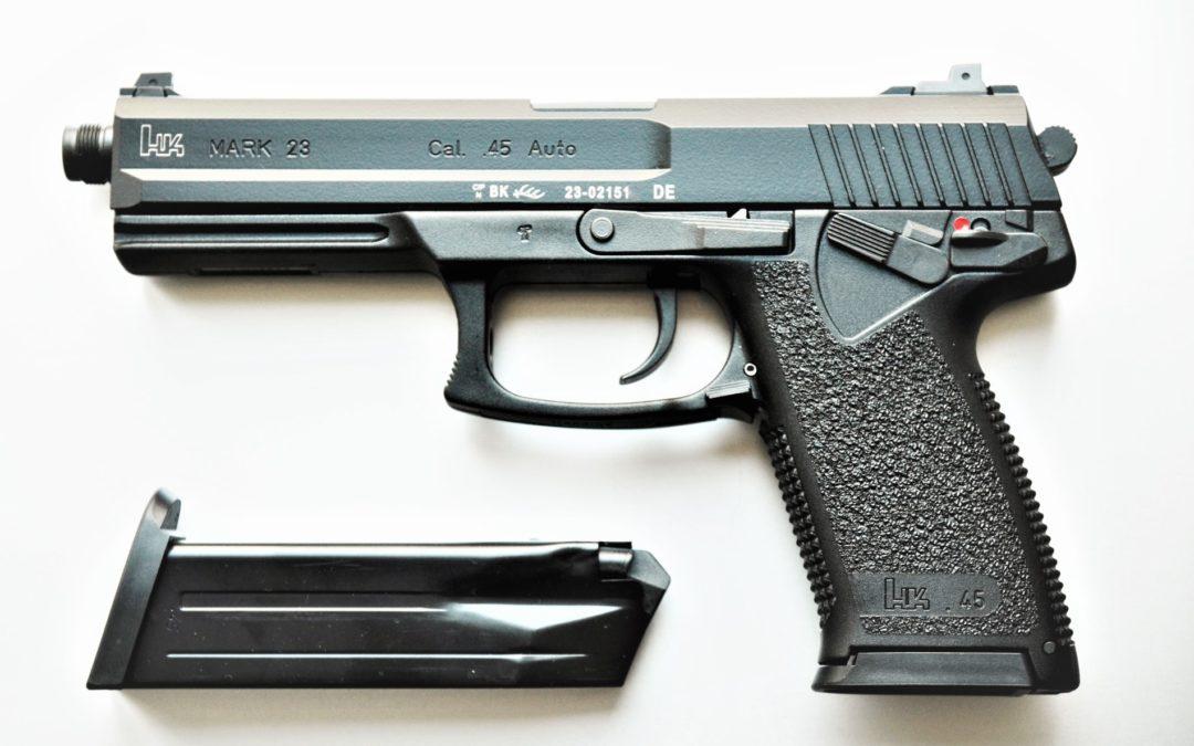 HK Mark 23 Mod 0 SOCOM – halbautomatische Pistole