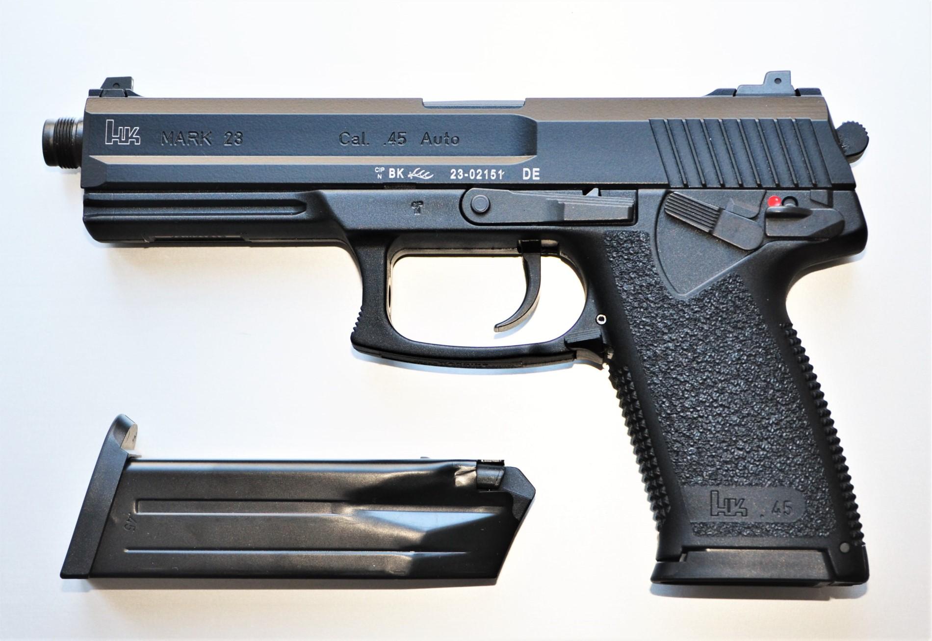 HK Mark 23 Mod 0 SOCOM .45 Auto - halbautomatische Pistole