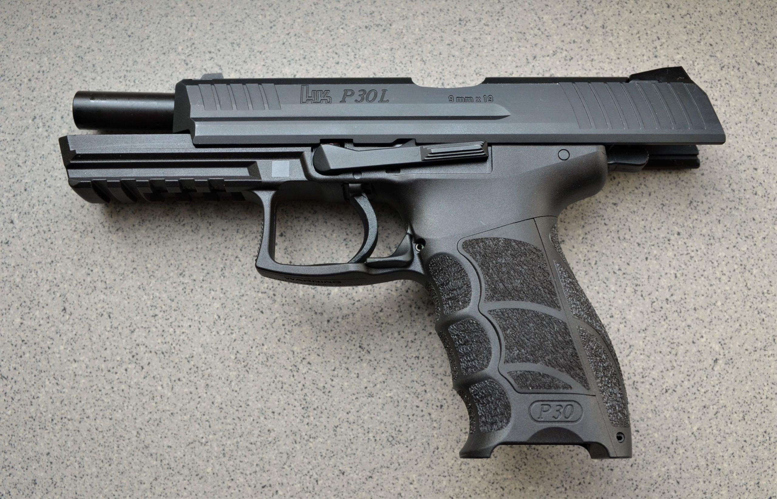 HK-P30L-V3-DA-SA-9X19-Schlitten-links