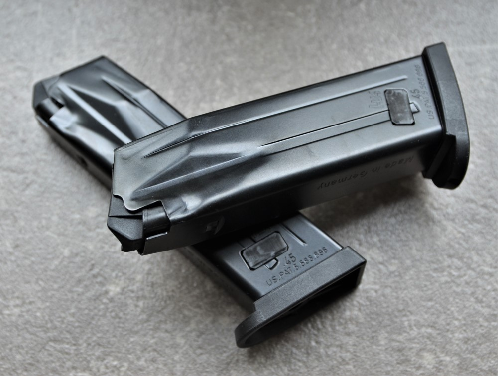 10 Schuss Magazin für HK Mark 23 SOCOM .45 Auto