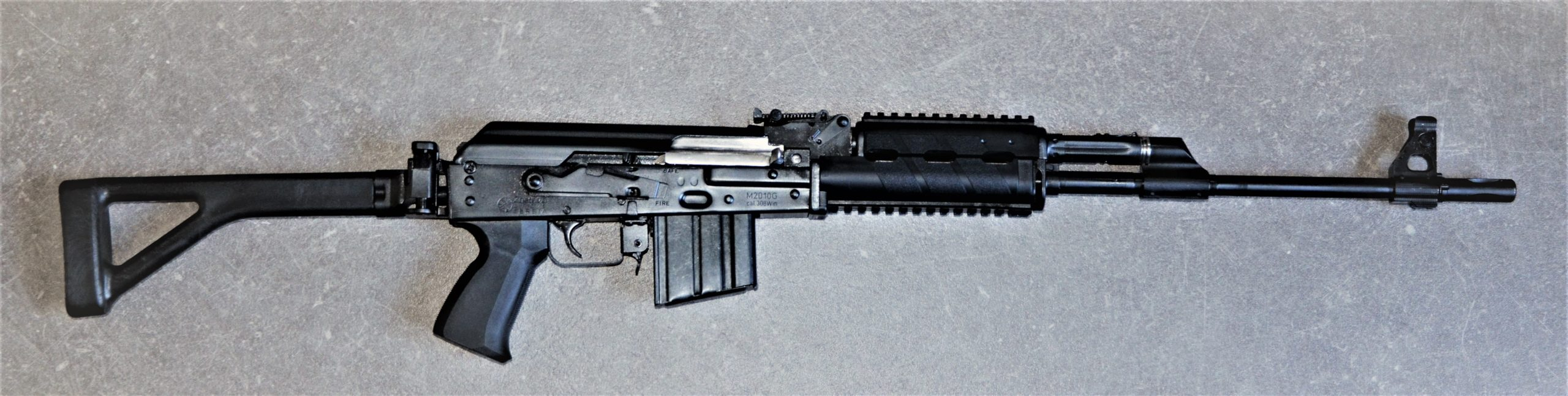 Zastava M2010 G mit Klappschaft - .308Win - halbautomatische Büchse rechts