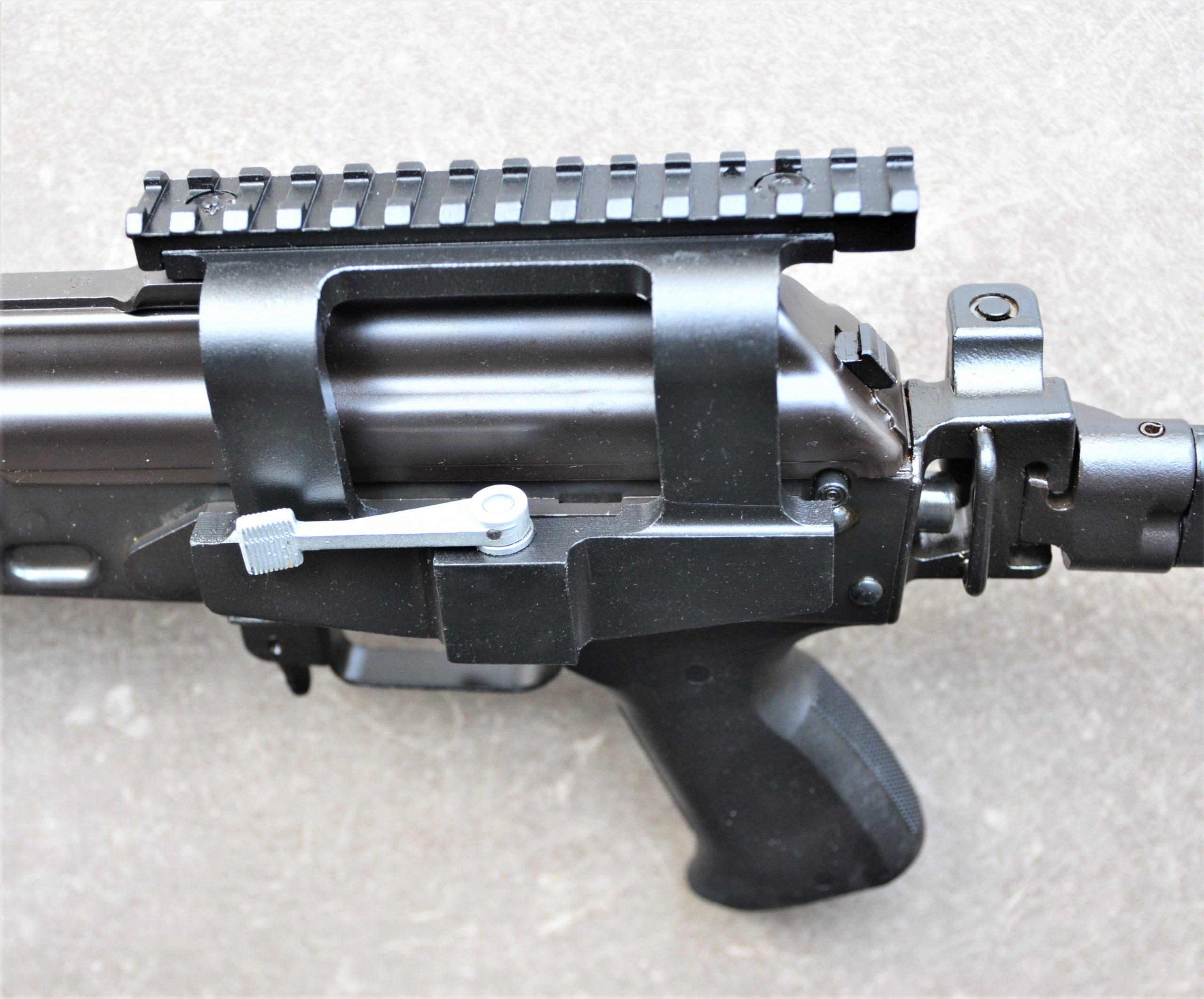Zastava M2010 G mit Klappschaft - .308Win - halbautomatische Büchse mit Seitenmontage