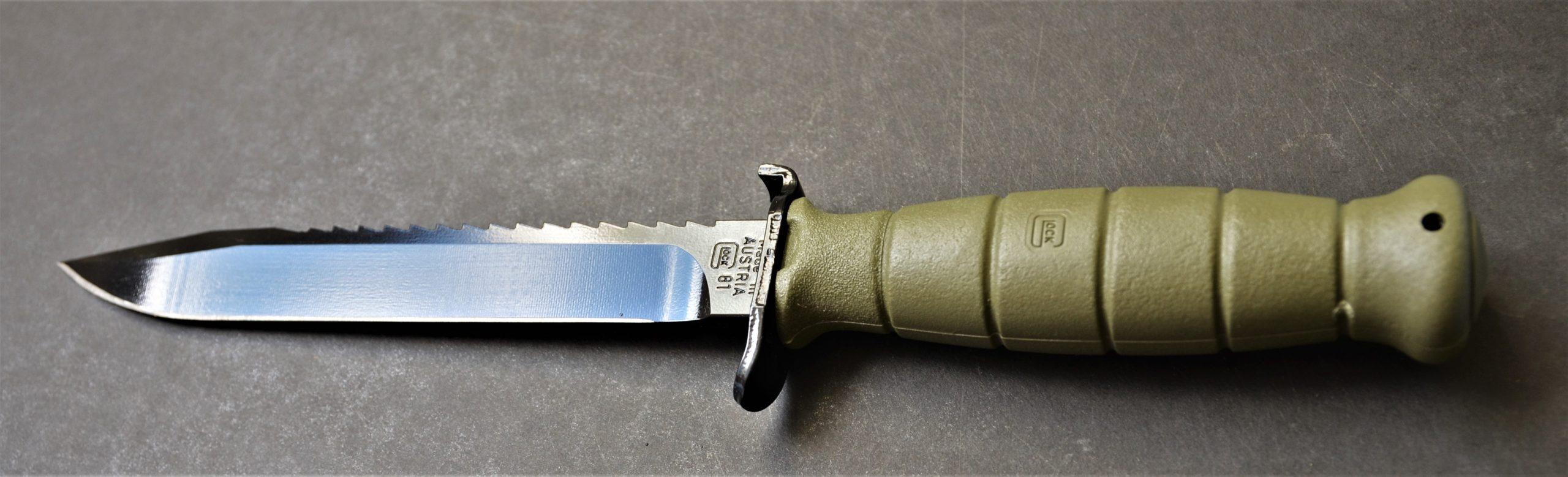 Glock Feldmesser FM 81 oliv - Militärisches Mehrzweckmesser