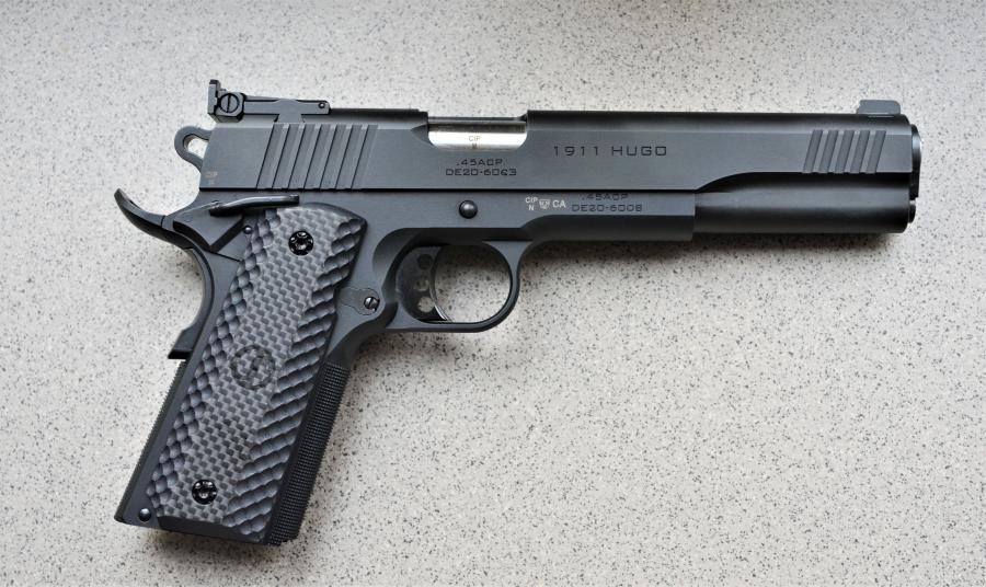 """Schmeisser 1911 Hugo .45 ACP - 6"""" - halbautomatische Pistole"""