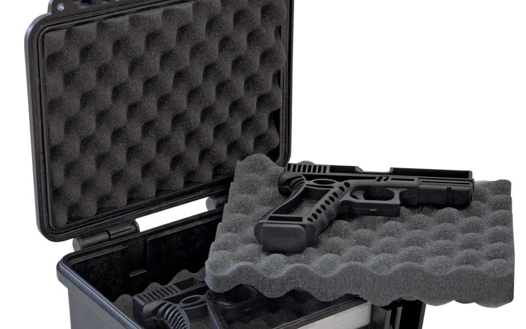 Explorer Cases Mod. 2712 für 2 Kurzwaffen – 305x270x144 – Kurzwaffenschutzkoffer