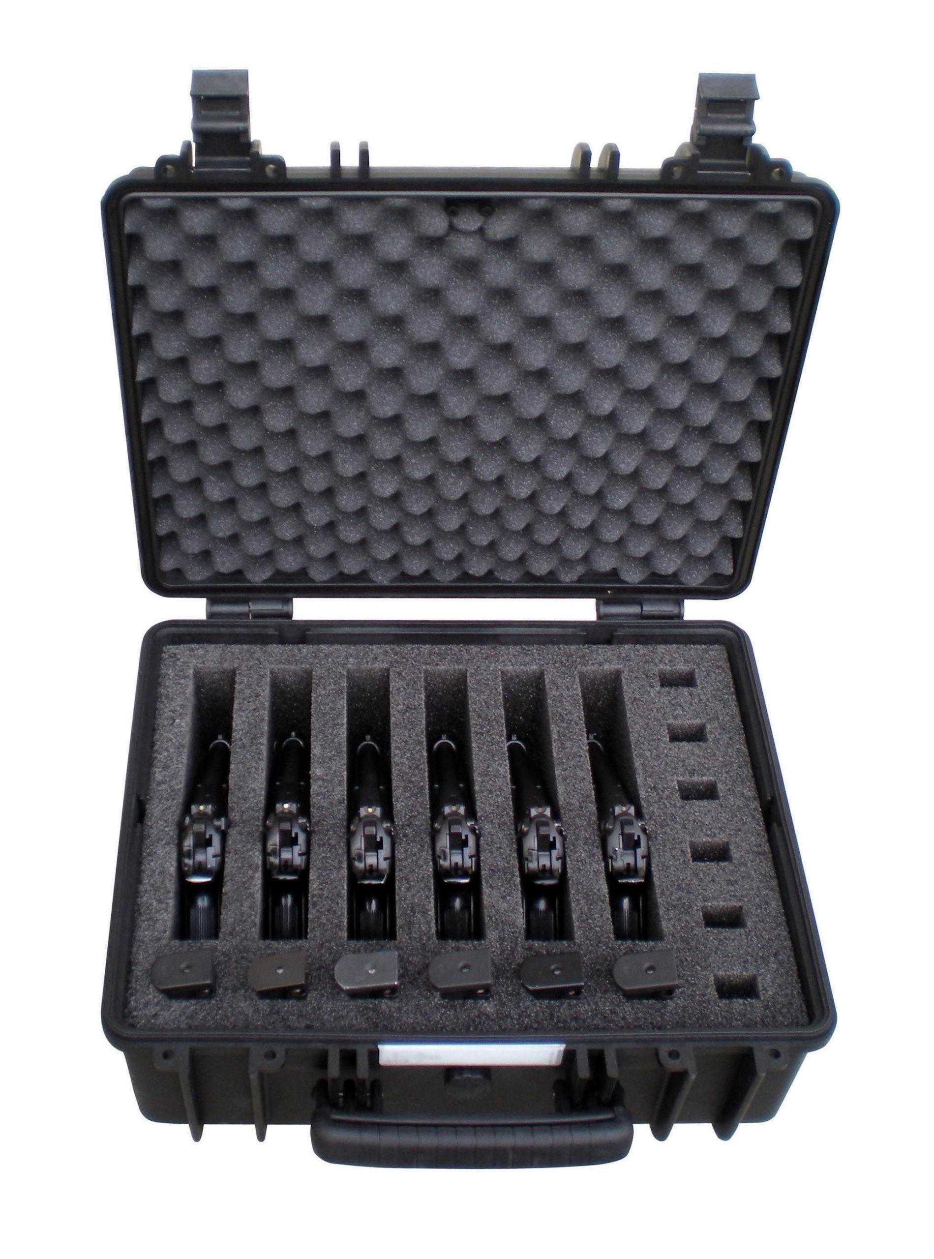 Explorer Cases Mod. 4419.B 6P für 6 Kurzwaffen - Kurzwaffenschutzkoffer