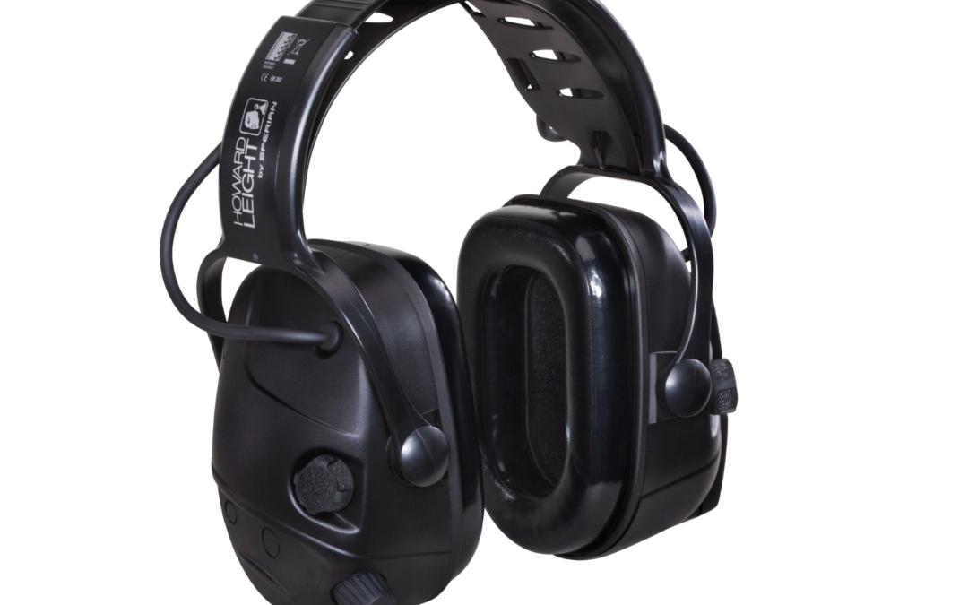 Honeywell Howard Leight™ Impact® Black – Aktiver Kapselgehörschutz