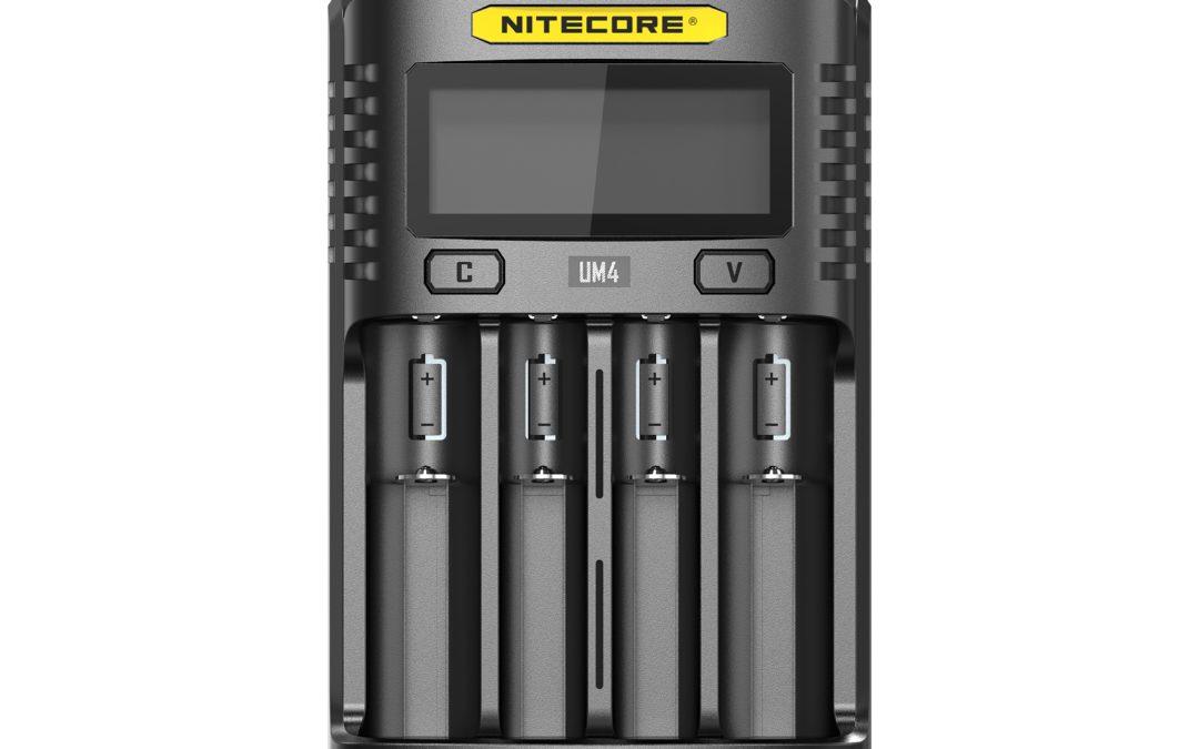 Nitecore UM4 – USB-Ladegerät für Akku