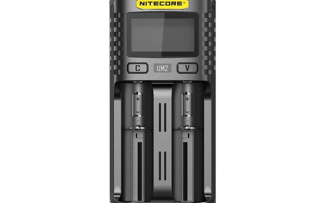 Nitecore UM2 – USB-Ladegerät für Akku