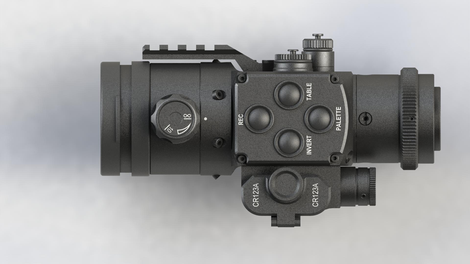 DIPOL® TFA 2.0 SL - Dual-Use-Wärmebildvorsatzgerät