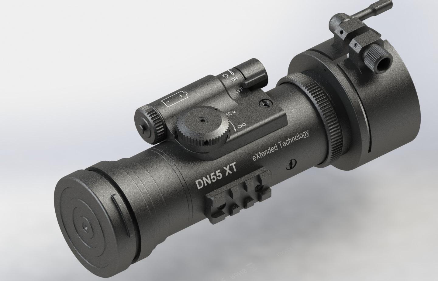DIPOL® DN55 XT (Version grün) - Nachtsichtvorsatzgerät