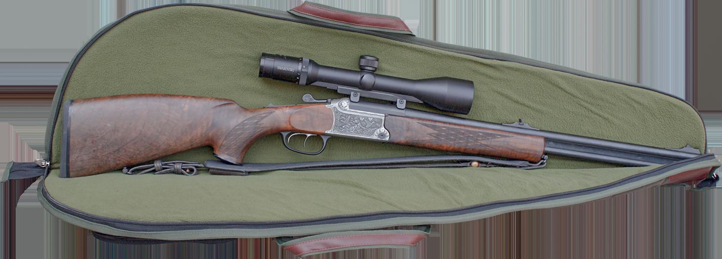 EUROHUNT Qualitätsfutteral für 1 Langwaffe - Jagdwaffenfutteral