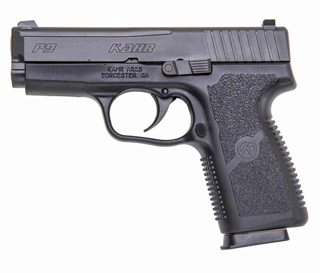 """Kahr Arms P9 Black 3.6"""" Premium - halbautomatische Pistole"""