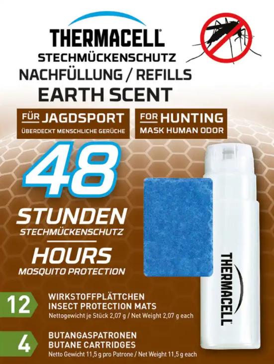 Thermacell® Nachfüllpack Earth Scent Jagd für Mückenabwehrgerät 48 Std.