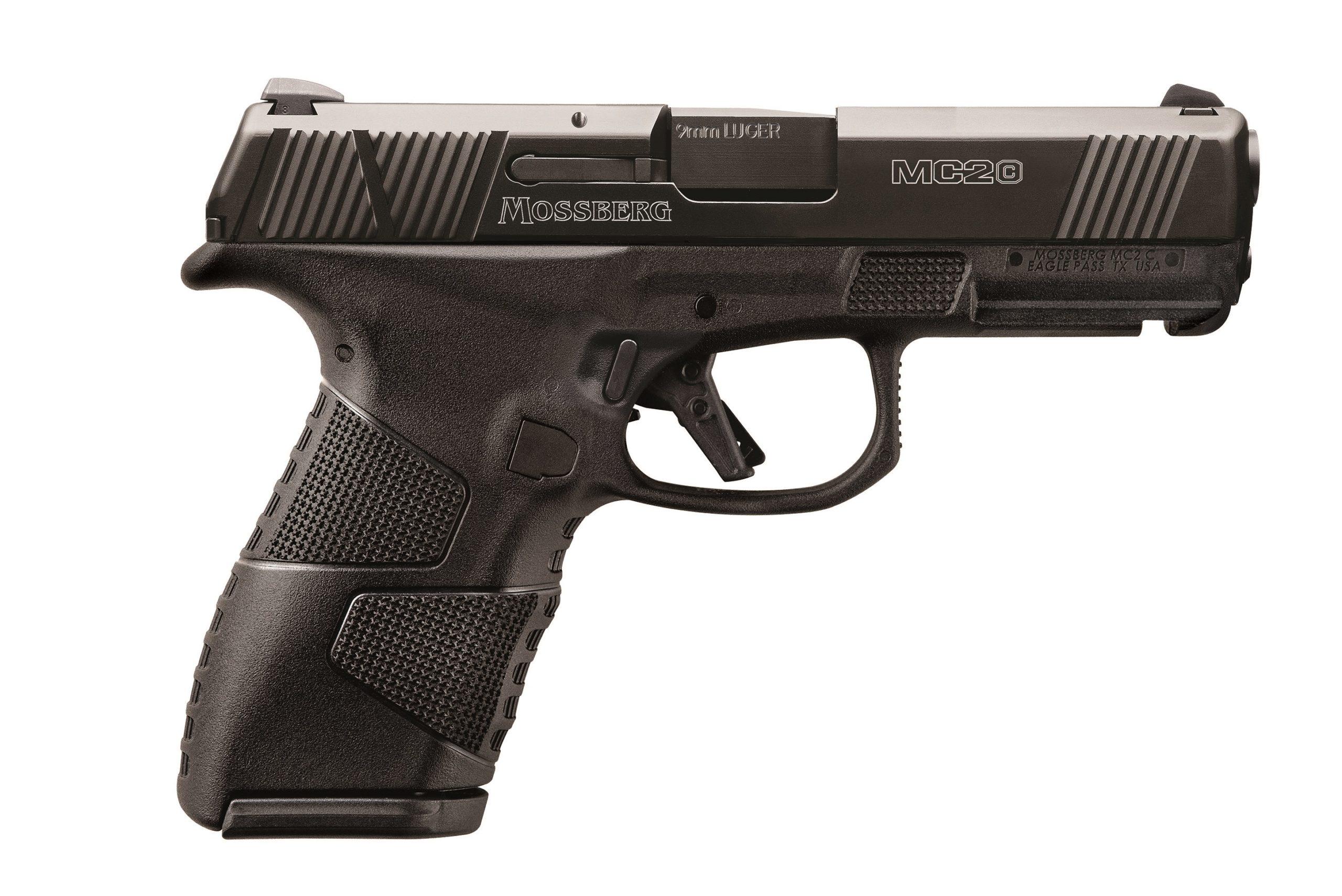 "Mossberg MC2c Compact 3.9"" Black CBS 9x19 - halbautomatische Pistole"