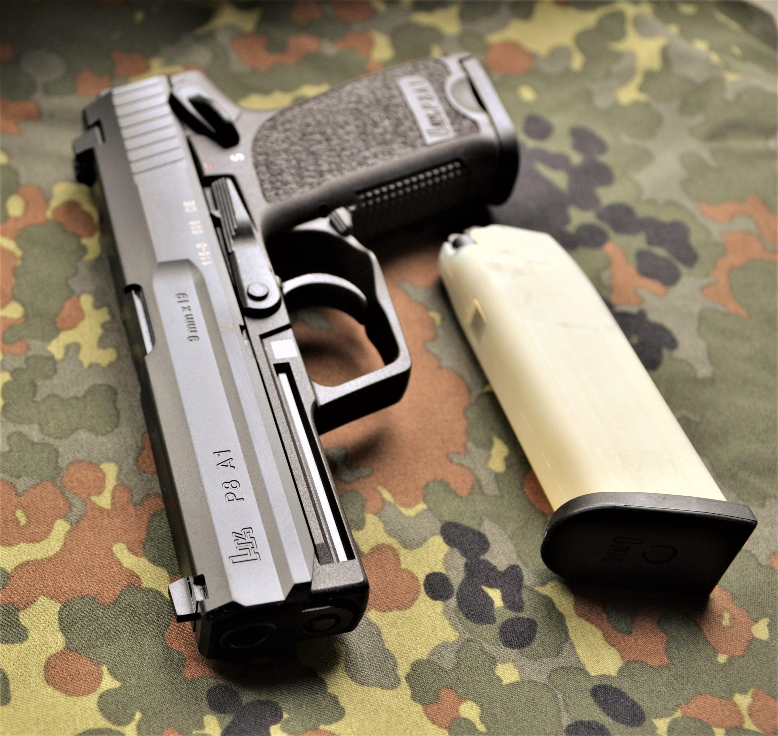 HK P8 A1 - 9X19 - halbautomatische Pistole