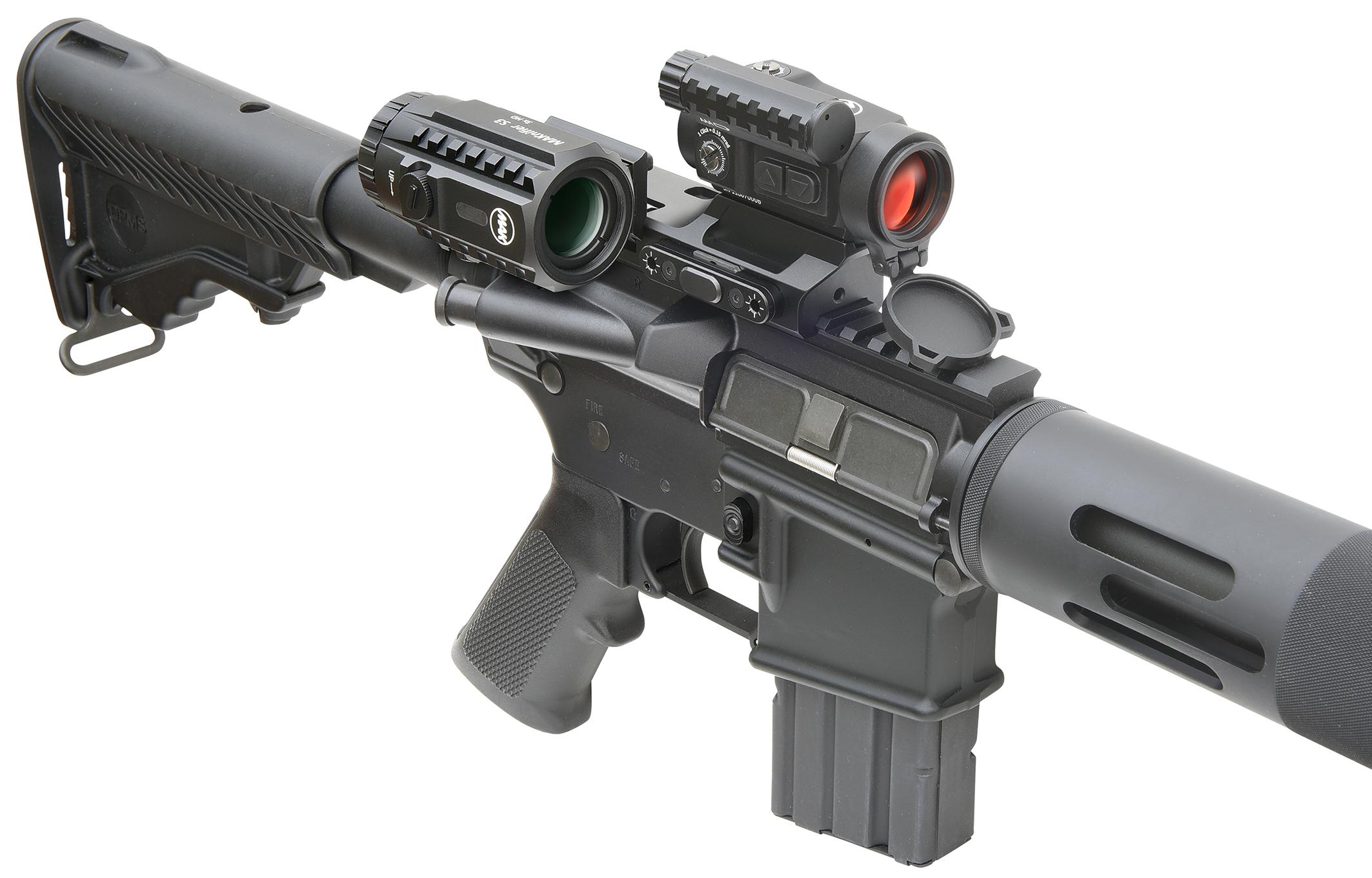 MAK MAKcomboSystem - Red Dot/Magnifier-Kombination