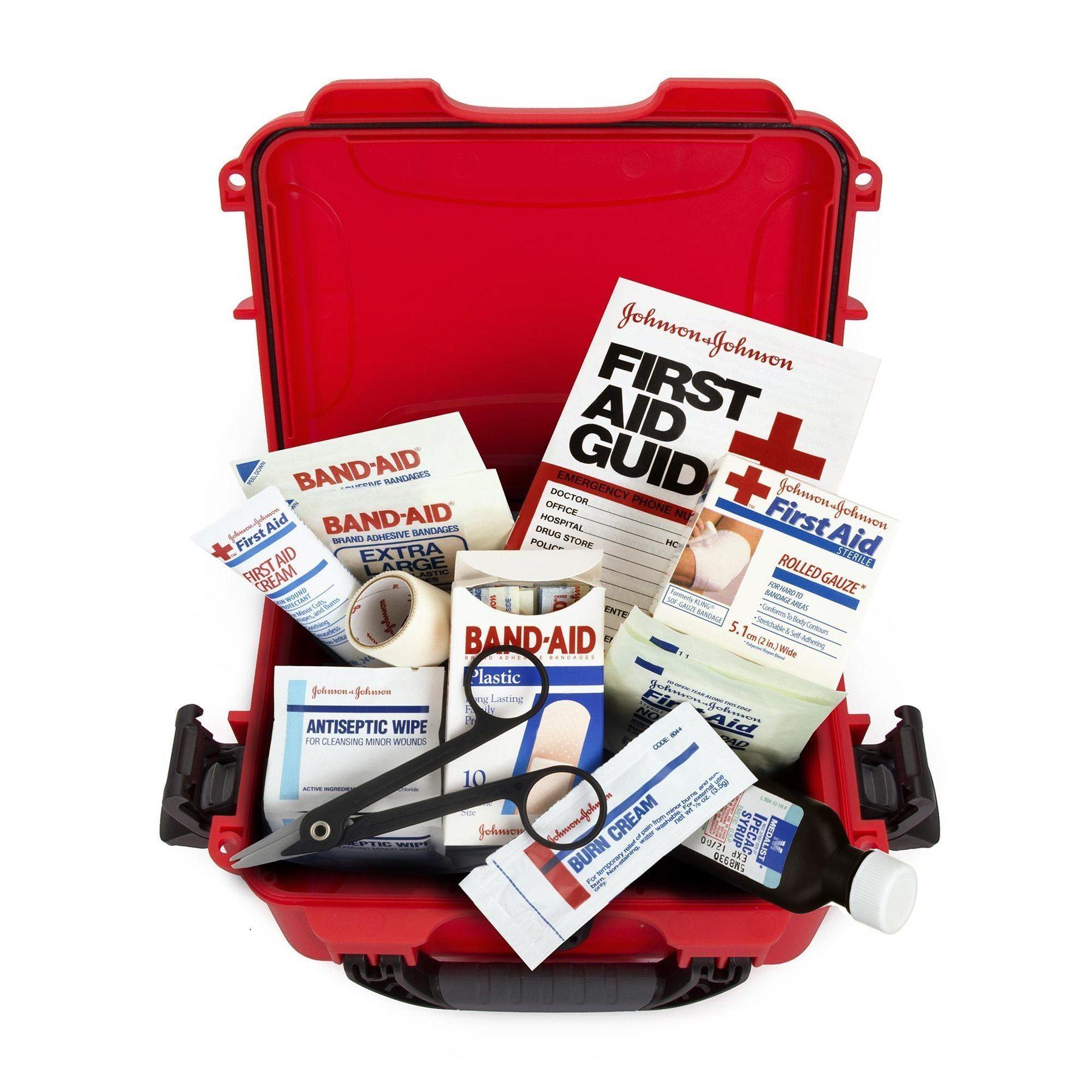 NANUK 904 First Aid Case - Erste-Hilfe Schutzkoffer